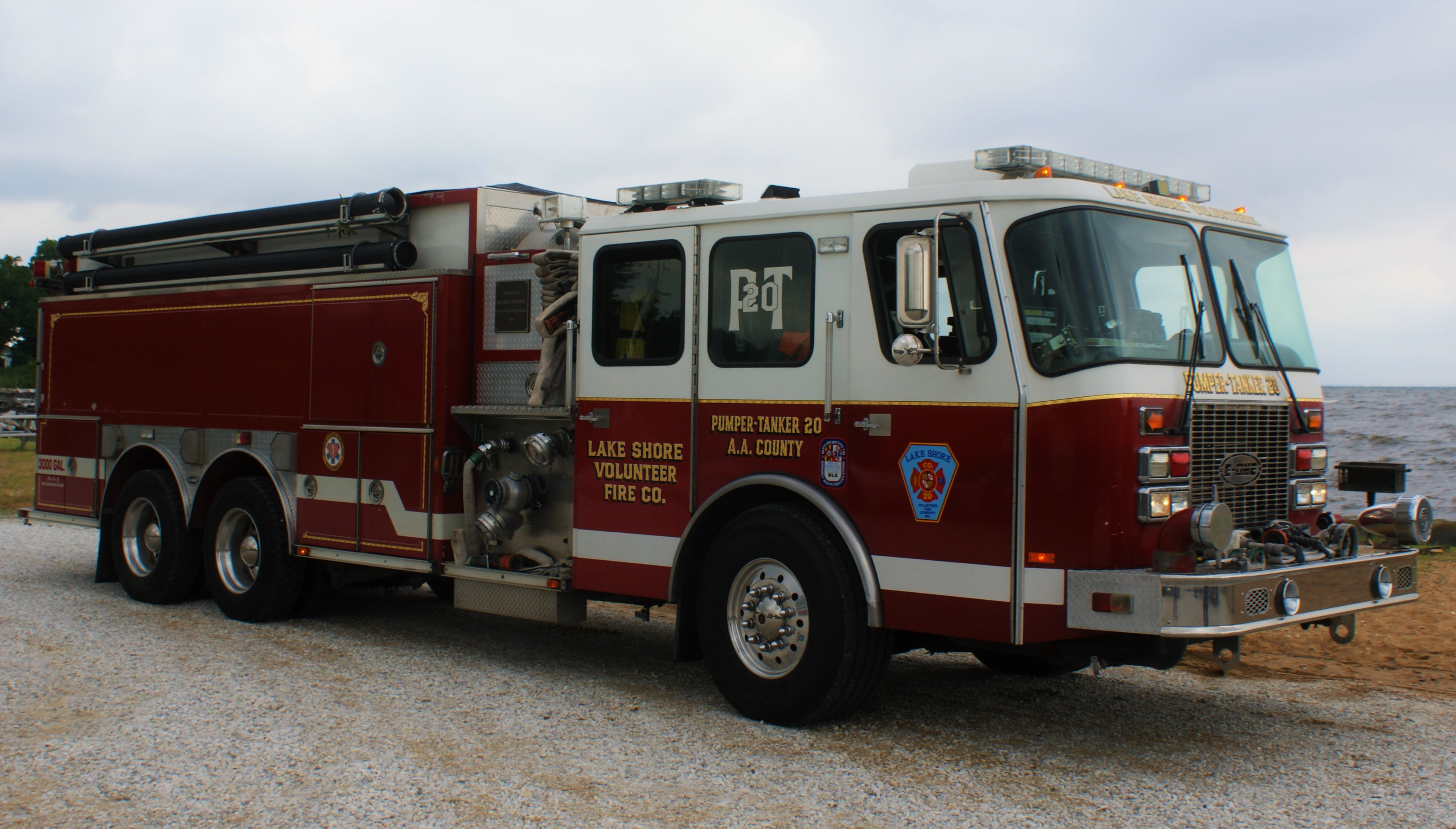 Maryland Map Anne Arundel County%0A Engine          EONE Cyclone Pumper Tanker Water capacity       gallons         GPM Crew capacity  u   d    Eng  HP     Spd Auto transmission  owned by  the